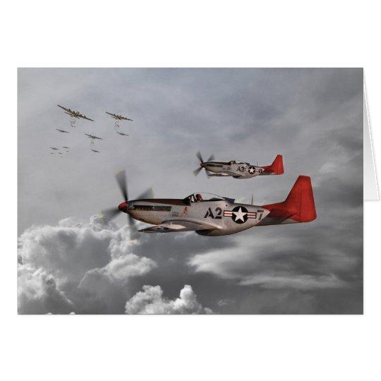 Tarjeta Aviadores de Tuskegee