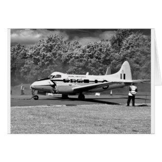 Tarjeta Aviones de DH104 Devon