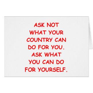 Tarjeta ayuda usted mismo