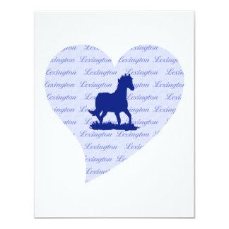 Tarjeta Azul azul de Kentucky Kentucky del caballo de