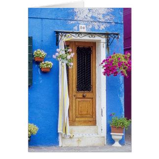Tarjeta Azul de Italia Burano