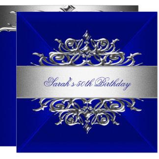 Tarjeta Azul real en la 50.a fiesta de cumpleaños de la