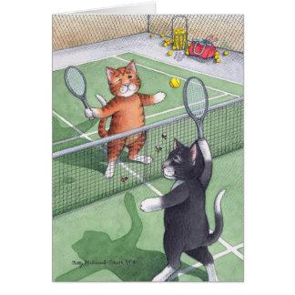 Tarjeta B y nota del cumpleaños del tenis de T #56