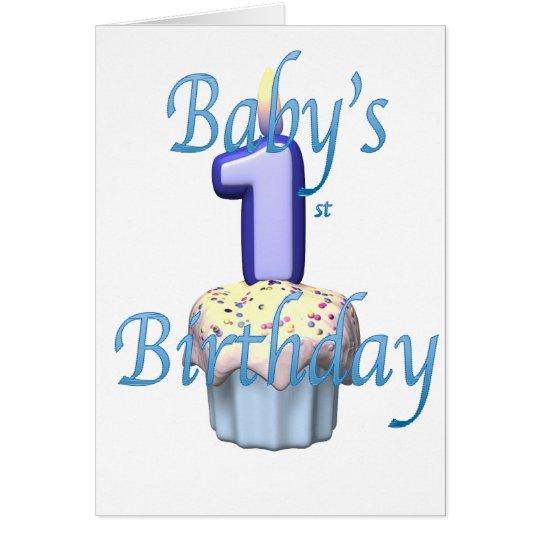 Tarjeta babysfirst.birthday