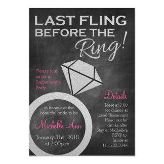 Tarjeta Bachelorette invita por último a Fling antes del