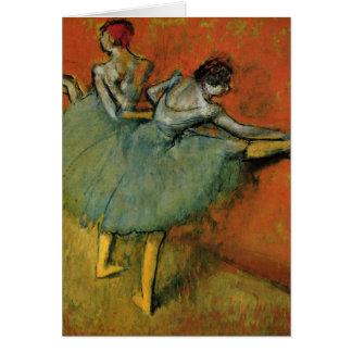 Tarjeta Bailarines de Edgar Degas el   en la barra