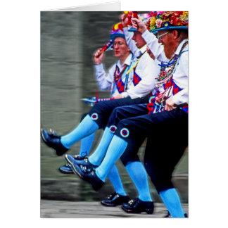 Tarjeta Baile de Morris, Inglaterra (1)