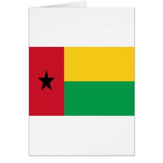 Tarjeta ¡Bajo costo! Bandera de Guinea-Bissau