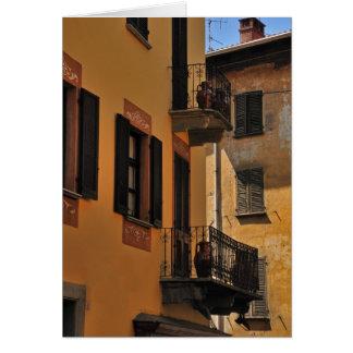 Tarjeta Balcones y puertas
