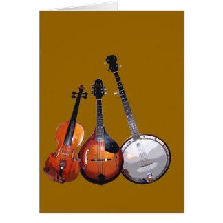 Tarjeta Banda de Bluegrass filtrada