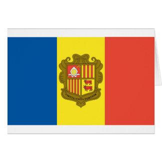 Tarjeta Bandera de Andorra