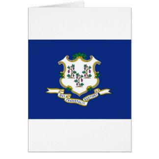 Tarjeta Bandera de Connecticut