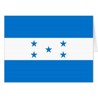 Tarjeta Bandera de Honduras