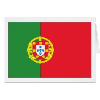 Tarjeta Bandera de Portugal