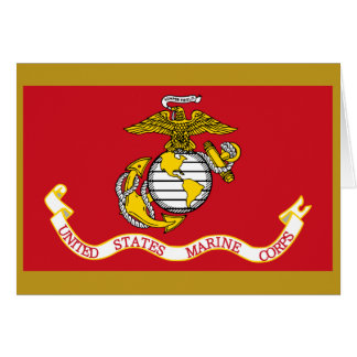 Tarjeta Bandera del USMC