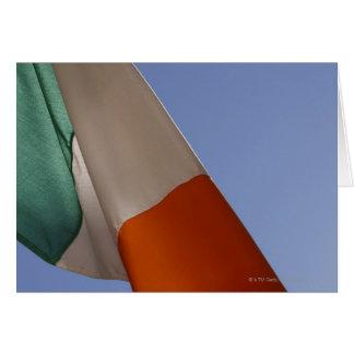 Tarjeta Bandera irlandesa
