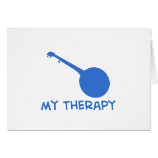 Tarjeta Banjo mi terapia
