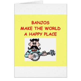 Tarjeta banjos