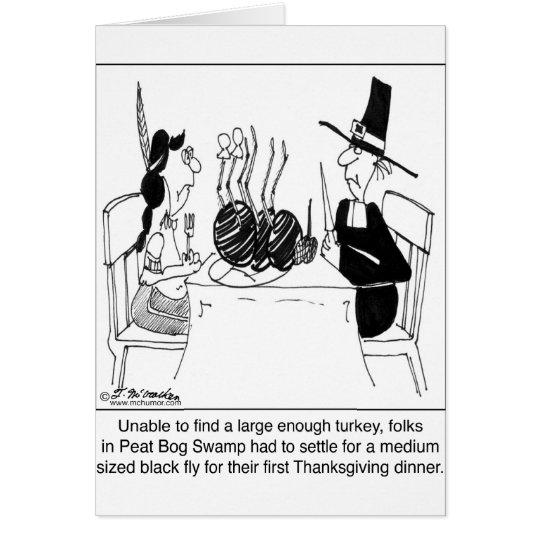Tarjeta Banquete de la mosca negra