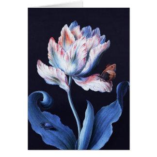 Tarjeta Barbara Regina Dietzsch: Tulipán del loro