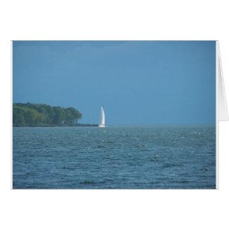 Tarjeta Barco de vela