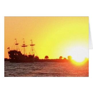 Tarjeta Barco pirata