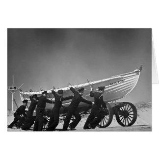 Tarjeta Barco portugués Crew, 1942 de la resaca