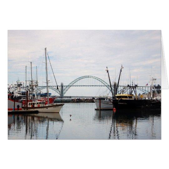 Tarjeta Barcos en Oregon