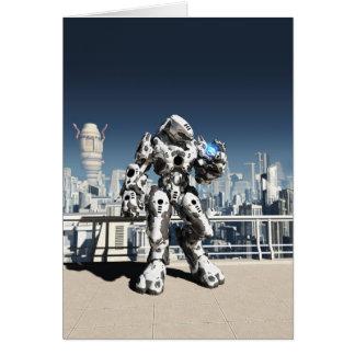 Tarjeta Batalla extranjera Droid - reloj de la ciudad