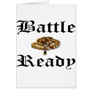 Tarjeta Batalla lista