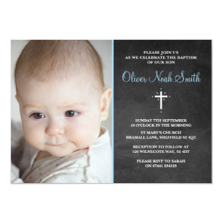Tarjeta Bautizo del bebé/invitación del bautismo