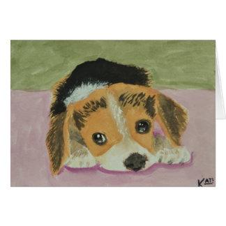 Tarjeta Beagle Notecards