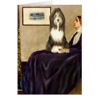 Tarjeta Beardie 9 - Madre de las marmotas