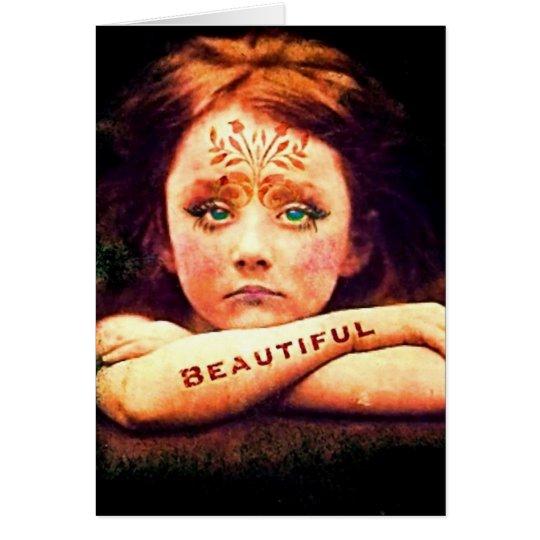 Tarjeta Beautiful~