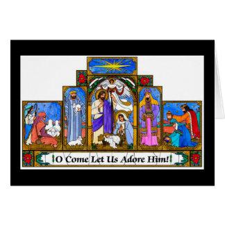 Tarjeta Bebé Jesús