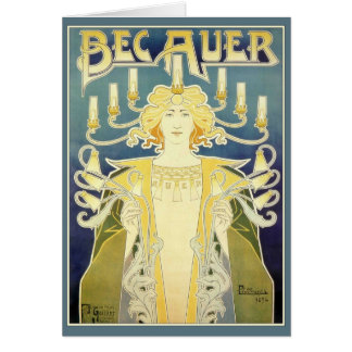 Tarjeta Bec Auer (azul)