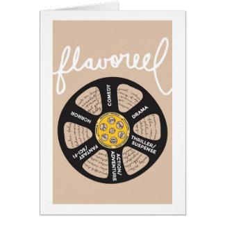 Tarjeta Beige Notecard de Flavoreel