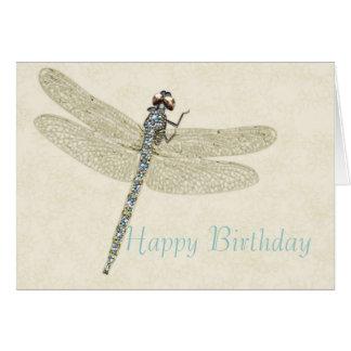 Tarjeta Bejeweled del feliz cumpleaños de la