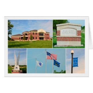 Tarjeta Belio Aire, Kansas, ayuntamiento