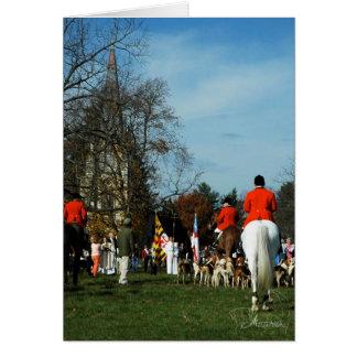Tarjeta Bendición de los perros