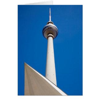 Tarjeta Berlín Fernsehturm
