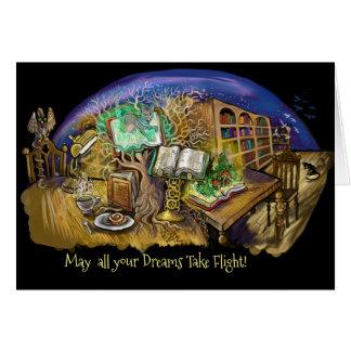 Tarjeta Biblioteca de sueños vivos