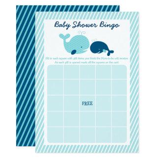 Tarjeta Bingo de la fiesta de bienvenida al bebé de la
