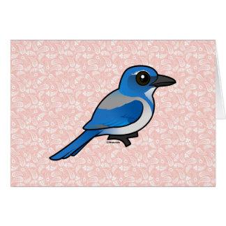 Tarjeta Birdorable California Fregar-Jay