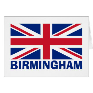 Tarjeta Birmingham en azul