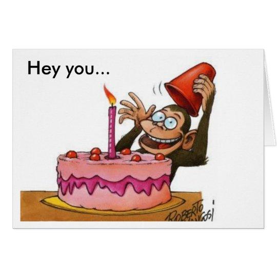Tarjeta birthday_monkey, ey usted…
