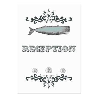 Tarjeta blanca de la recepción nupcial de la balle plantilla de tarjeta personal