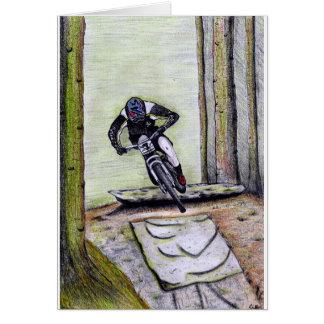 Tarjeta Bmx del mtb de Llandegla de la bici de montaña