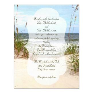 Tarjeta Boda de playa