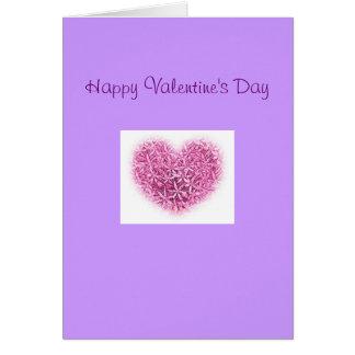 Tarjeta bonita del el día de San Valentín